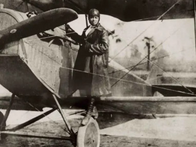Bessie Coleman: The first African American woman to Earn a Pilot License