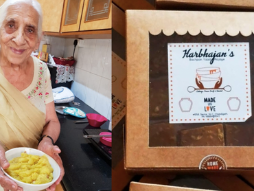 Harbhajan Kaur is a 94-yr-old woman who doesn't think it's too late to do a start-up