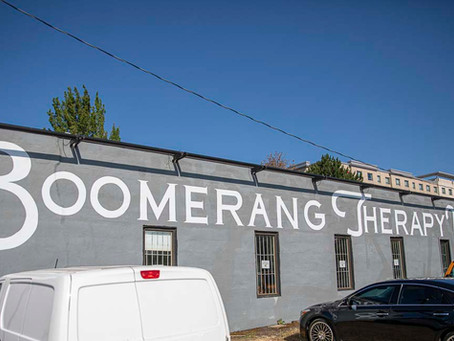 Boomerang Therapy Works Rehabilitates Community and the Body