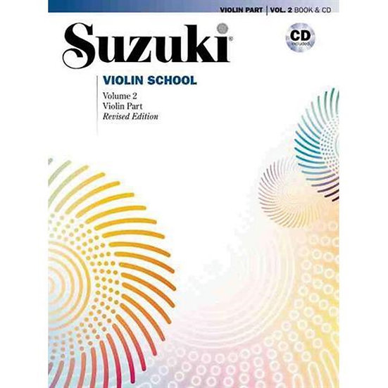 Suzuki Violin School Violin Parts, CD