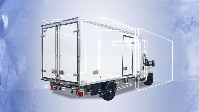 foto che rappresenta lillustrazione grafica di un camion