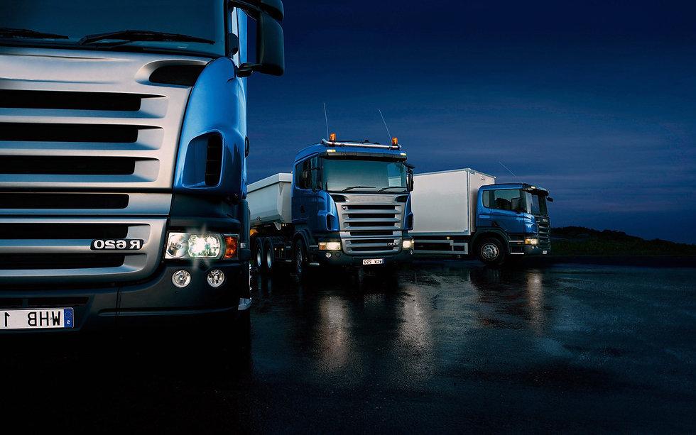 immagine che rappresenta camion su una strada