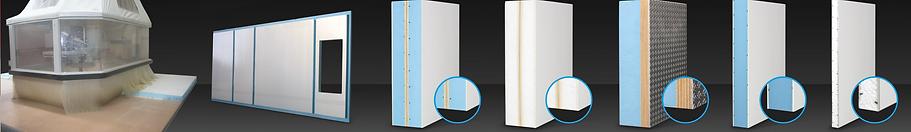 dttagli su diversi tipi di pannelli per la coibentazione isotrica