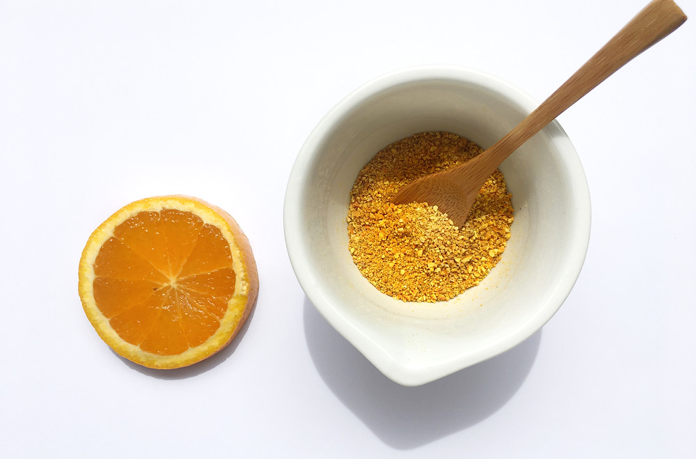 Une recette de poudre d'orange très facile à réaliser