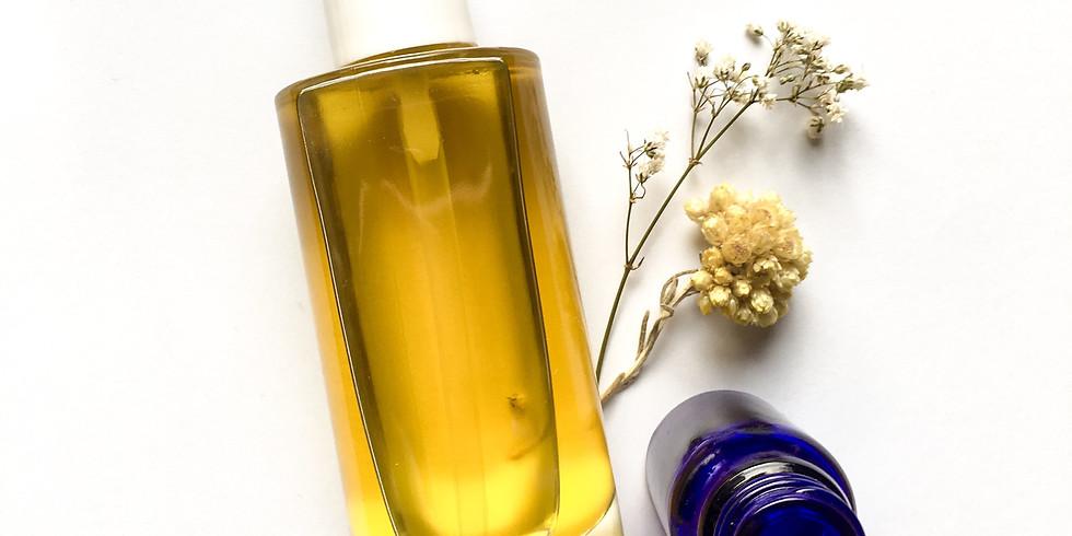 Huile de beauté aux huiles précieuses