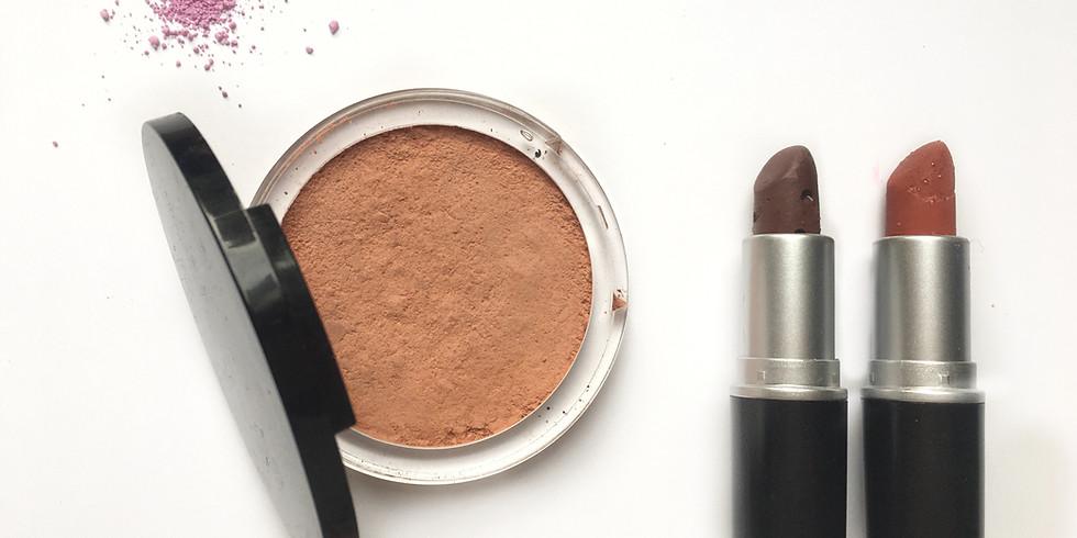 Duo maquillage naturel : rouge à lèvre et terracotta