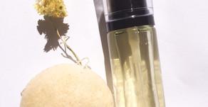 Recette DIY cosmétique simple : Nettoyant, démaquillant naturel visage biphasé.
