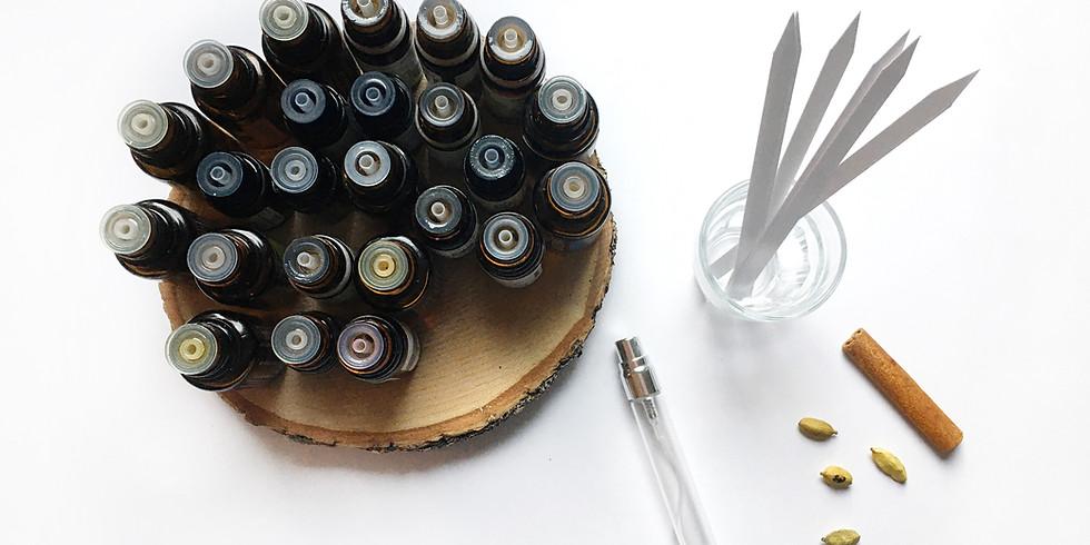 Creation de parfum aux essences naturelles