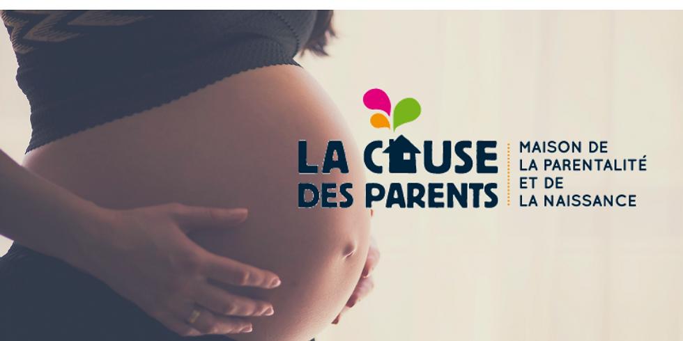 Atelier future maman à la Cause des Parents