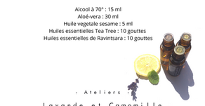 Recette gel hydroalcoolique