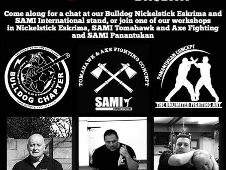 SAMICS at the UK Martial Arts Show 2018