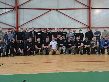 Training With Romanian Police Armed Response Units