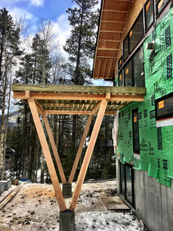 Custom Timber Frame Deck