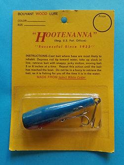 """3"""" HOOTENANNA Classic-Blue"""