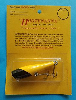 """2 3/4"""" HOOTENANNA Classic-Yellow w/ Black Head"""