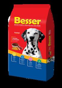 Besser Carne y Vegetales - Perros Adultos
