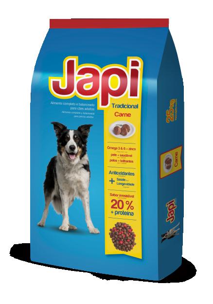 Japi Tradiciona Carne - Cães Adultos