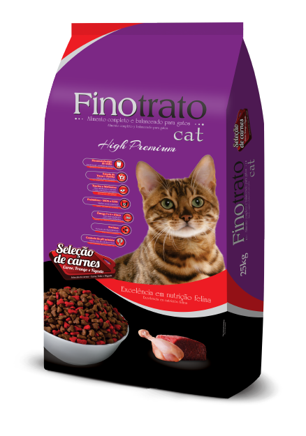 Finotrato Cat - Adult Cats - Meat Selection
