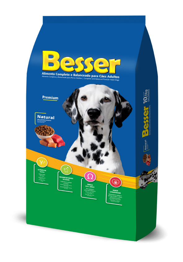 Besser Natural - Cães Adultos