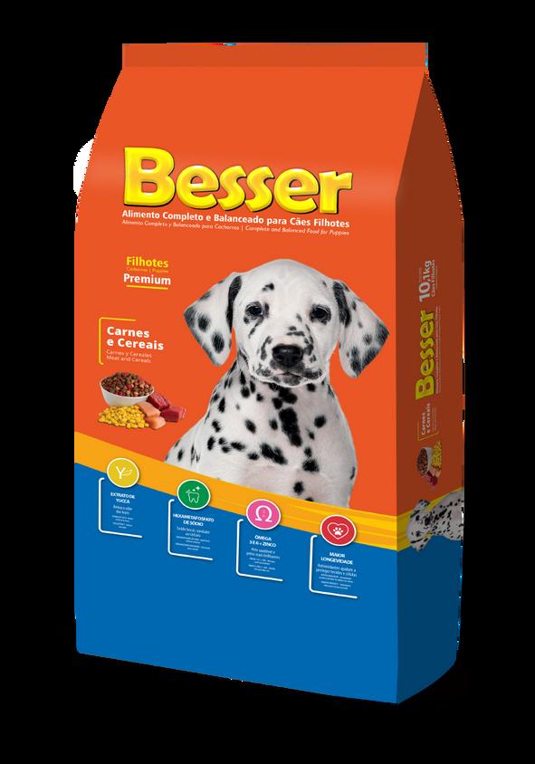 Besser Carnes e Cereais - Cães Filhotes