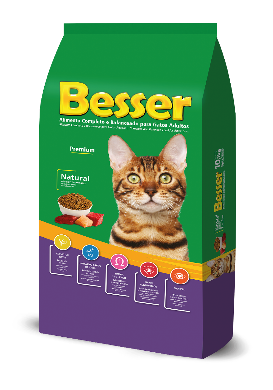 Besser Natural - Gatos Adultos
