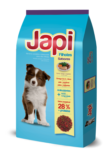 Japi Beef, Chicken and Vegetables - Puppies