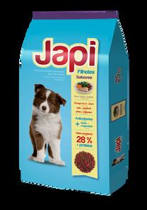 Japi Carne, Pollo y Vegetales - Perros Cachorros
