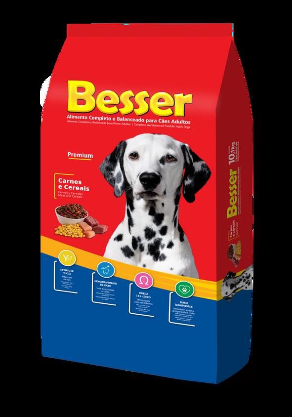 Besser Carnes e Cereais - Cães Adultos