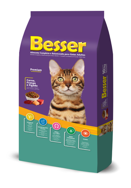 Besser Beef, Chicken and Liver - Adult Cats
