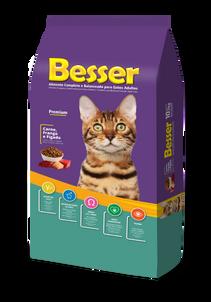Besser Carne, Pollo y Higado - Gatos Adultos