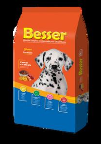 Besser Carne y Cereales - Perros Cachorros