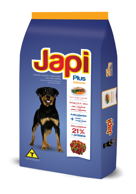 Japi Plus Beef, Chicken and Vegetables - Adult Dogs