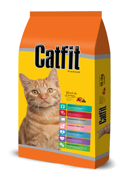 Catfit Meat Blend - Adult Cats