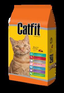 Catfit Blend de Carnes - Gatos Adultos
