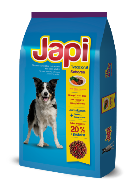 Japi Tradicional Beef, Chicken and Vegetables - Adult Dogs