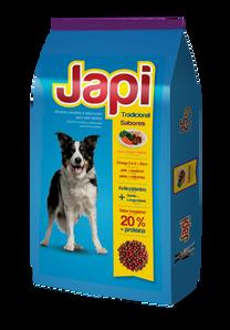 Japi Tradicional Carne, Pollo y Vegetales - Perros Adultos