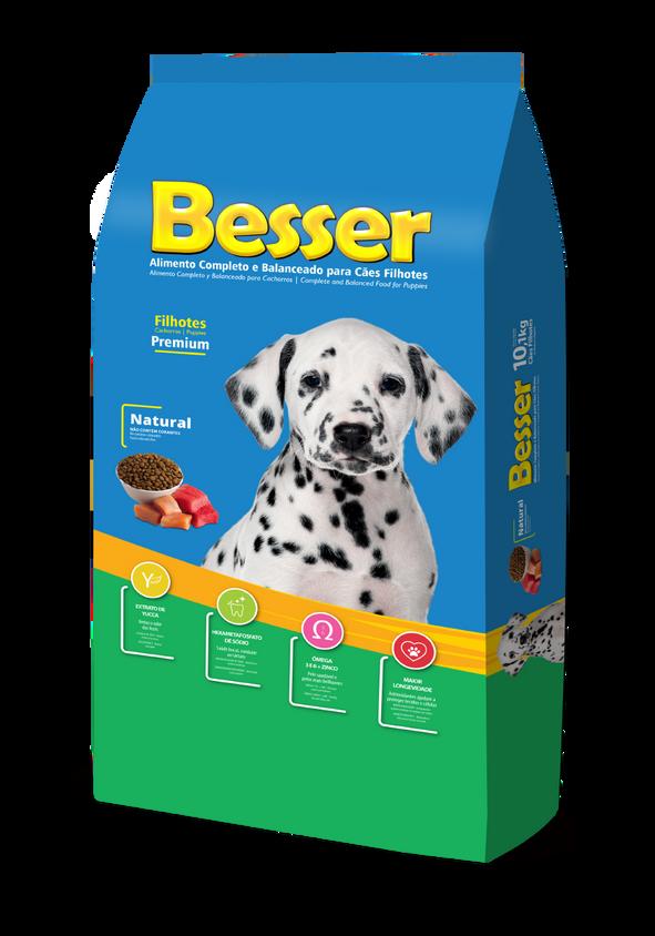 Besser Natural - Cães Filhotes