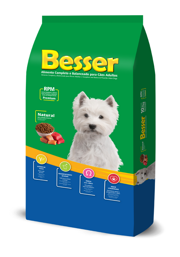 Besser Natural - Cães Adultos RPM