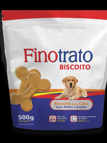 Finotrato Biscoito Cães Raças Médias e Grandes