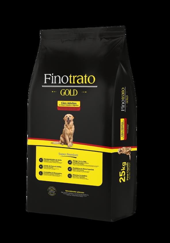 Finotrato Gold - Cães Adultos de Raças Grandes e Gigantes