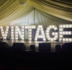 Light Up Illuminated Letters Vintage