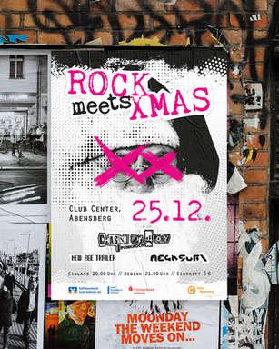 Plakat Rock meets Xmas