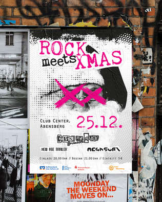 Plakat Rock meets Xmas