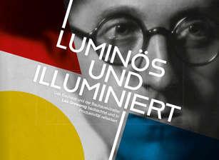 Buch Luminös und illuminiert