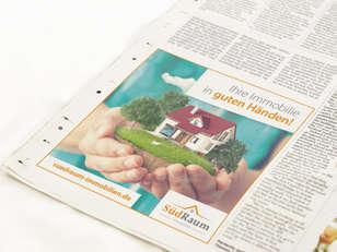 Anzeige Südraum Immobilien