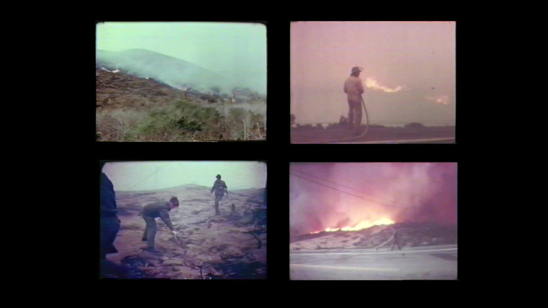 """""Firestorm '77 The Honda Canyon Fire"" Archival Trailer"