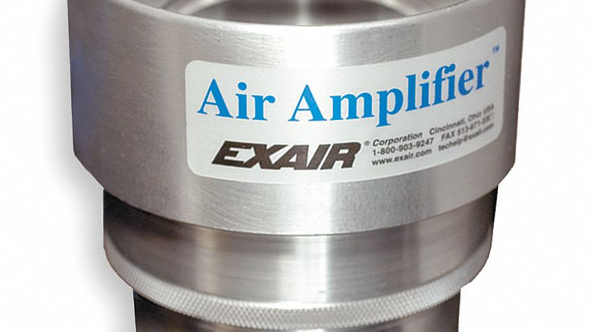 Stainless Steel Adjustable Air Amplifiers - Amplifier Only