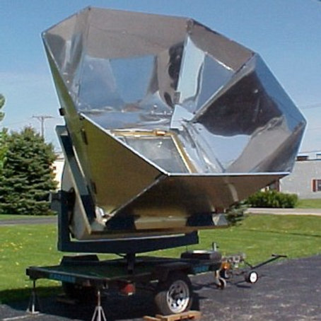 Sun Oven: Large Scale Cooking