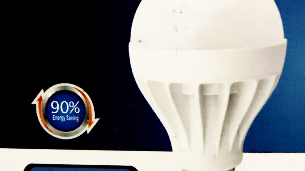 LED Energy Saving Bulb 9 Watts (5pcs)