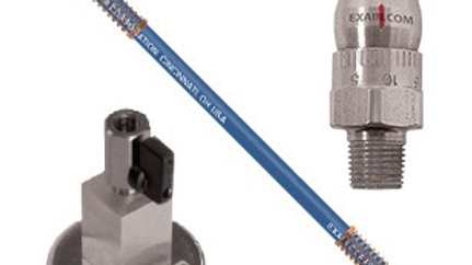 SSteel Adjustable Air Nozzle with Stay Set Hose and One Outlet Magnetic Base